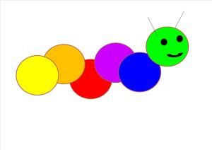 Colin the colour caterpillar